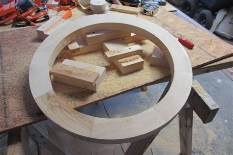 How To Make A Wood Wagon Wheel